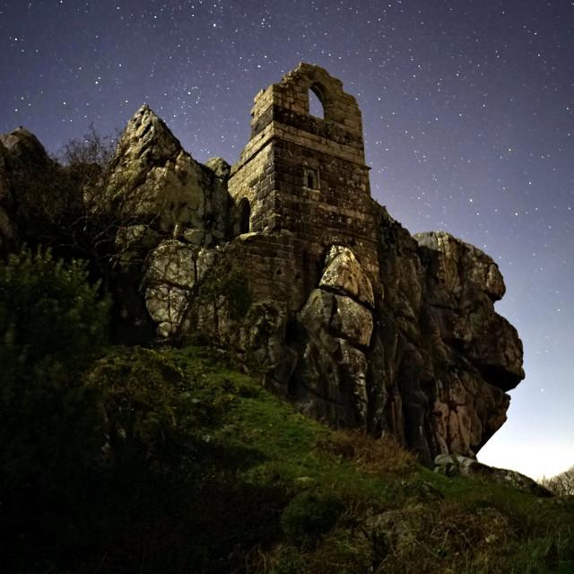 """Star Lit Chapel"" stock image"