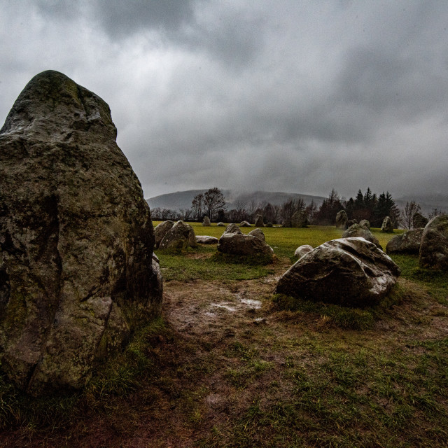 """Castlerigg Stones"" stock image"