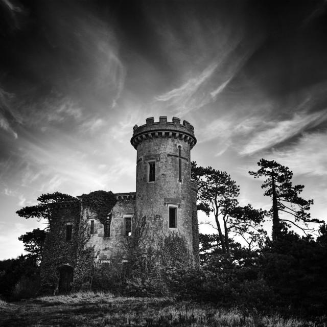 """Dark Castle"" stock image"