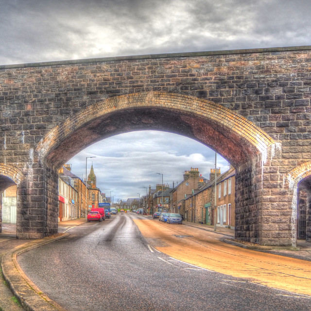 """""""Viaduct Arch"""" stock image"""