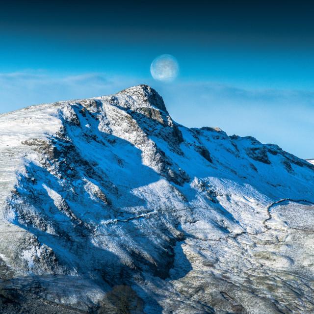 """Chrome Hill Winter"" stock image"