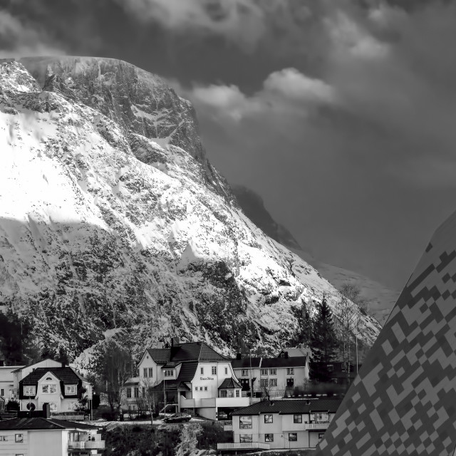 """""""Andalsnes ,Norway"""" stock image"""