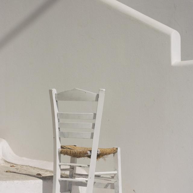 """Island Chair"" stock image"