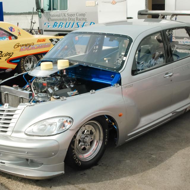 """""""Chrysler PT Cruiser custom"""" stock image"""