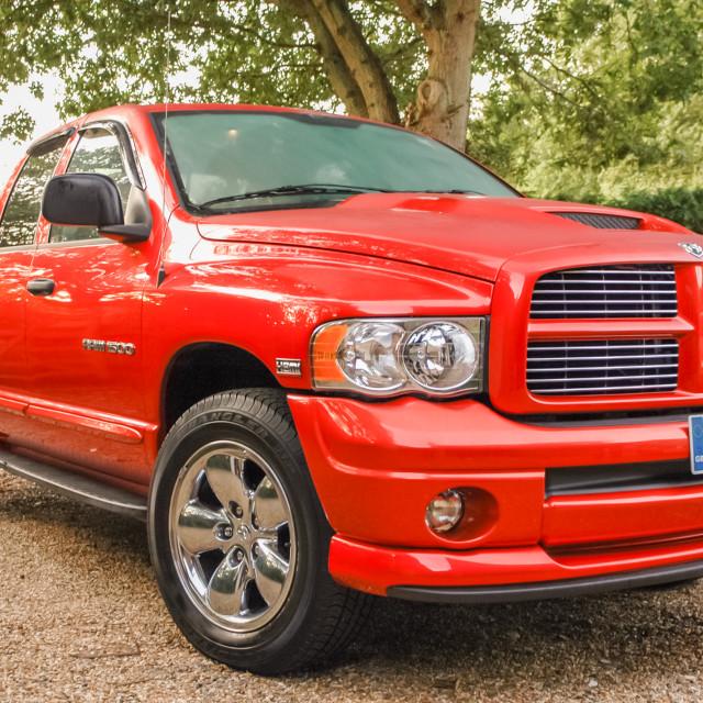 """Dodge Ram 1500 Pickup"" stock image"