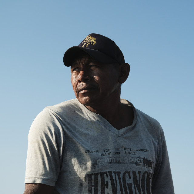 """Fishermen at Guajira, Colombia"" stock image"