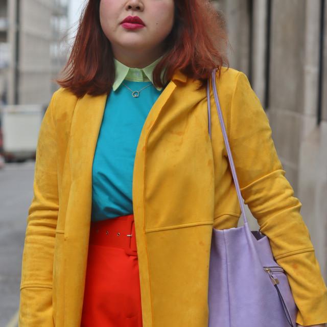 """""""Multi-coloured fashion."""" stock image"""