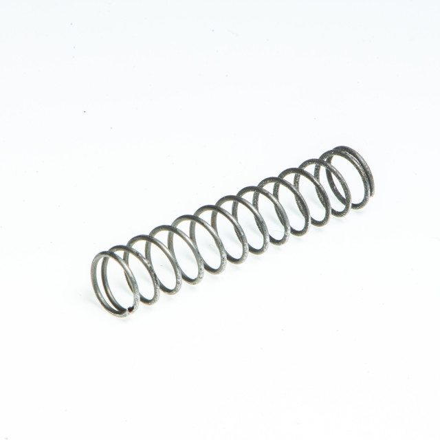 """""""Detail of a small metal spring"""" stock image"""