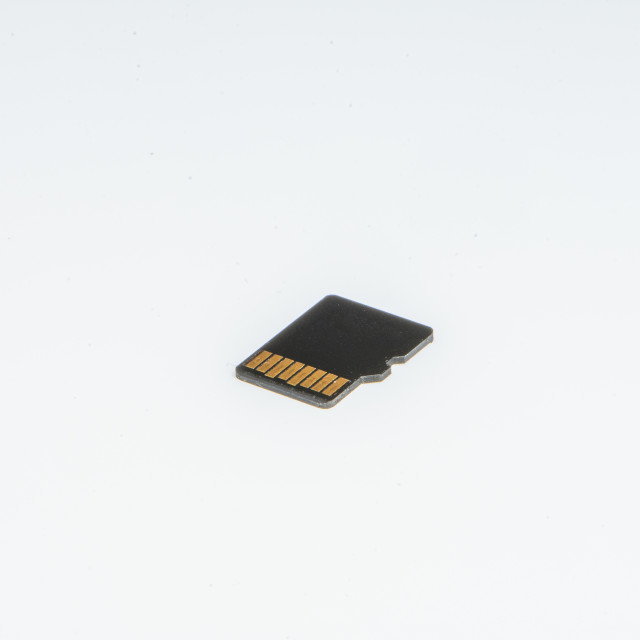 """""""Detail of a small storage memory"""" stock image"""
