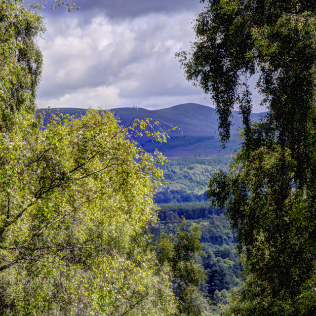 """""""Cairngorm View"""" stock image"""