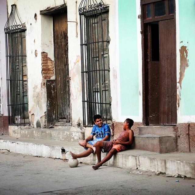 """street life"" stock image"