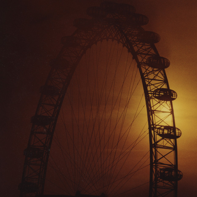 """Eye of the Fog"" stock image"