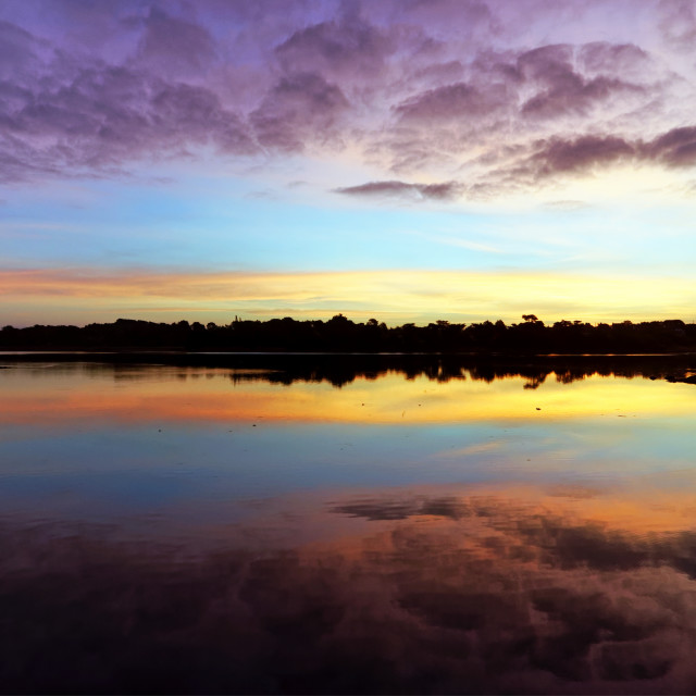 """Toulvern sunrise"" stock image"