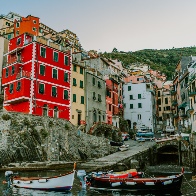 """""""Colorful buildings"""" stock image"""