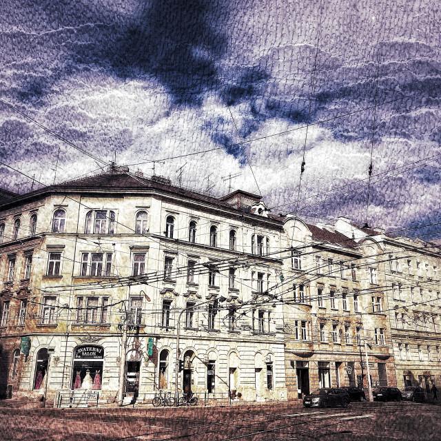 """Brno Building"" stock image"