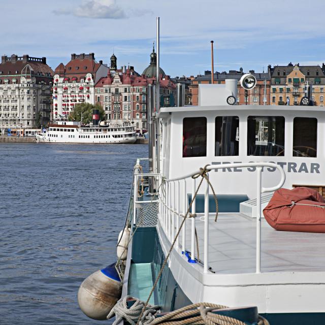 """Stockholm"" stock image"