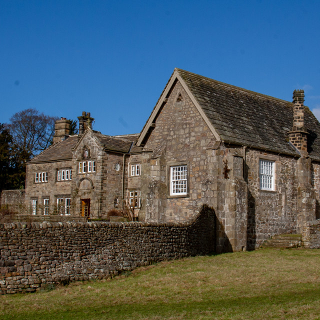 """""""The Old Rectory, Bolton Abbey, Wharfedale"""" stock image"""