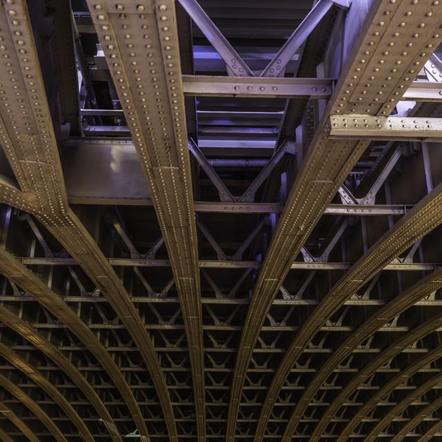 """""""Blackfriars Bridge"""" stock image"""