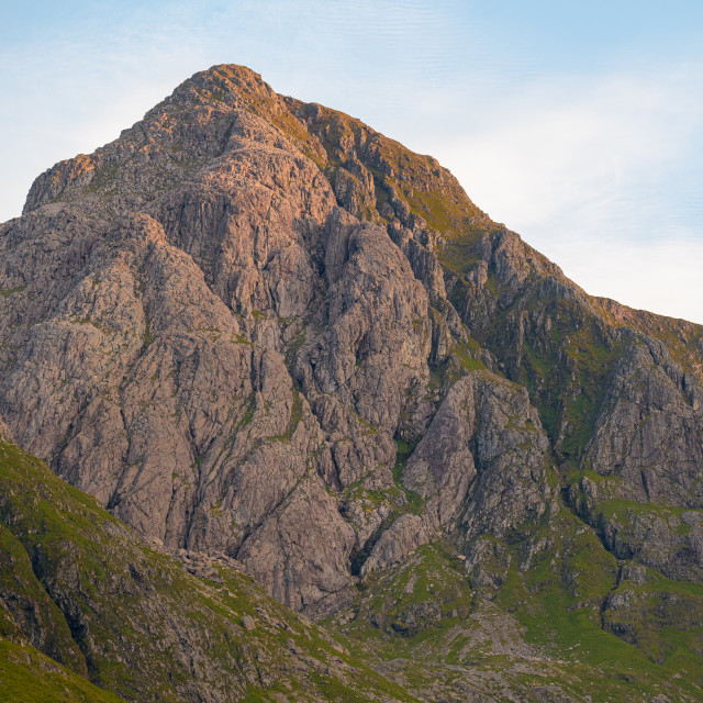 """Stob Coire nam Beith"" stock image"