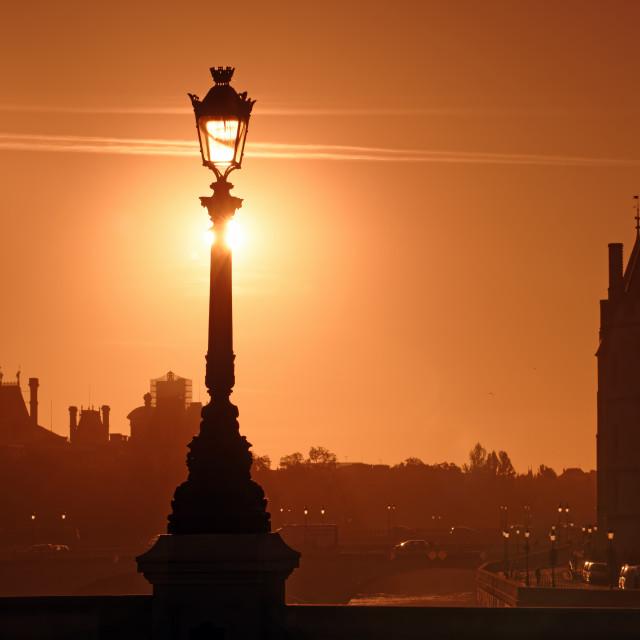 """""""Paris light"""" stock image"""