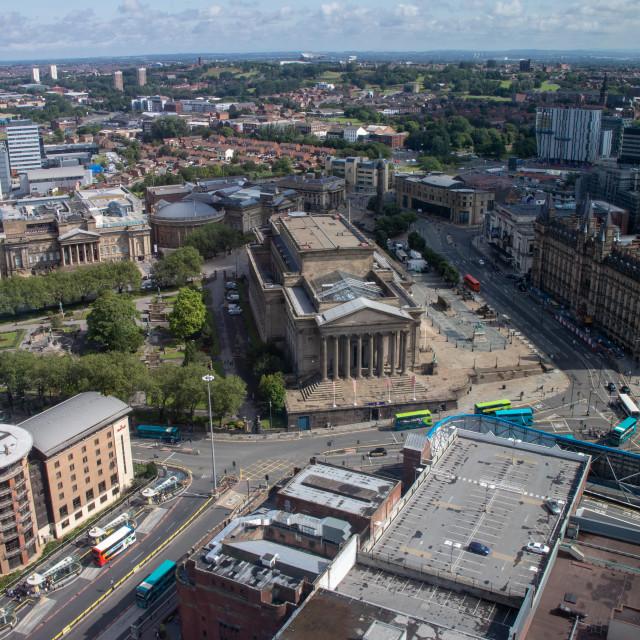 """St George's Hall, Liverpool"" stock image"