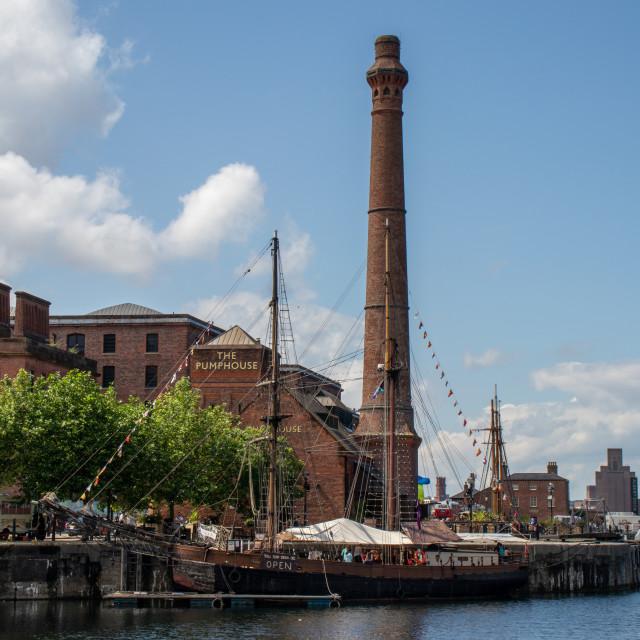 """""""Albert Dock, Liverpool"""" stock image"""