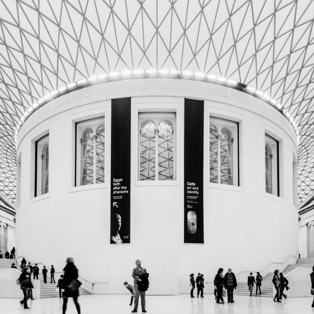 """British Museum (II)"" stock image"