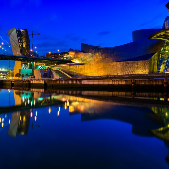 """""""Guggenheim Museum Bilbao (I)"""" stock image"""