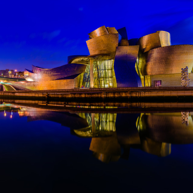 """Guggenheim Museum Bilbao (III)"" stock image"