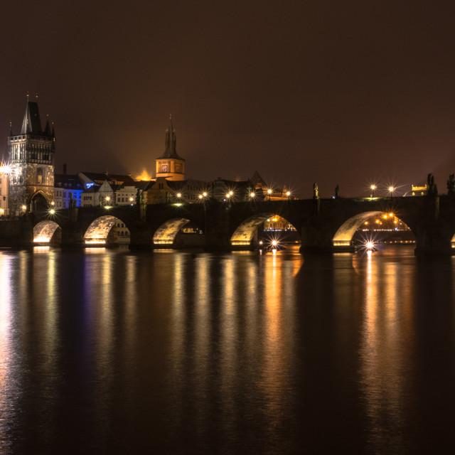 """Charles Bridge, Prague"" stock image"