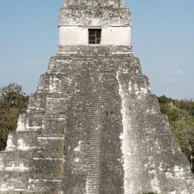 """Jaguar Temple"" stock image"