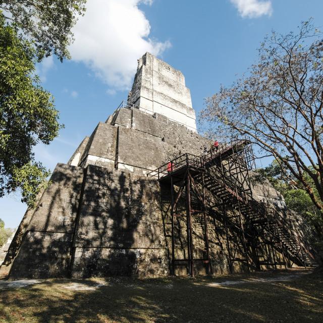 """Mayan temple"" stock image"