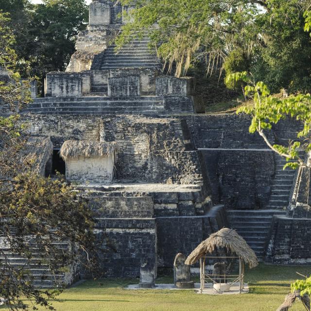 """Mayan citadel"" stock image"