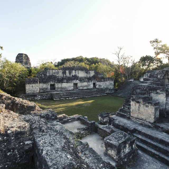"""Tikal Guatemala"" stock image"