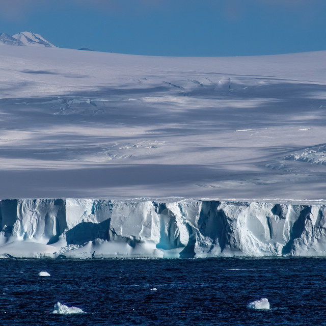 """Iceberg, Ross Sea, Antarctica"" stock image"