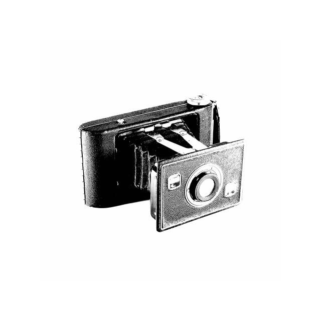 """Pocket Bellows Camera"" stock image"