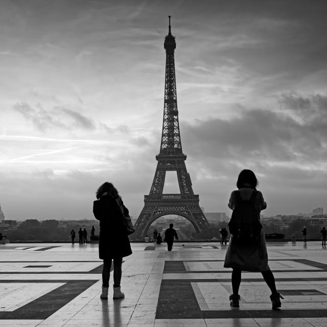 """Looking Paris"" stock image"