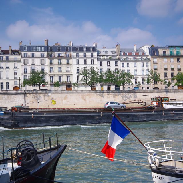 """""""Île Saint Louis"""" stock image"""