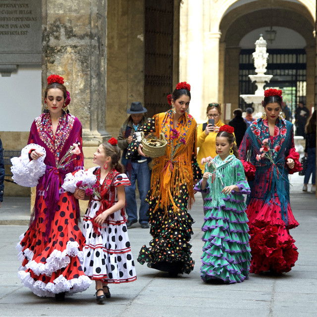 """Flamenco Dancers"" stock image"