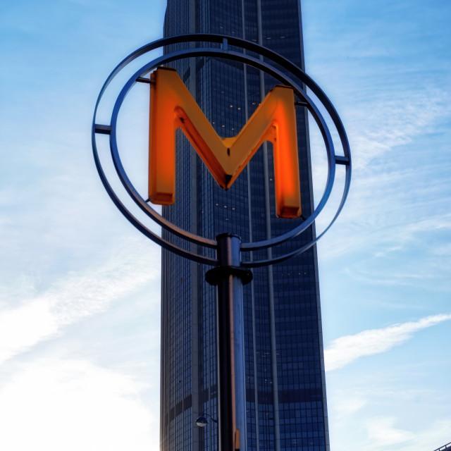 """""""Montparnasse tower"""" stock image"""