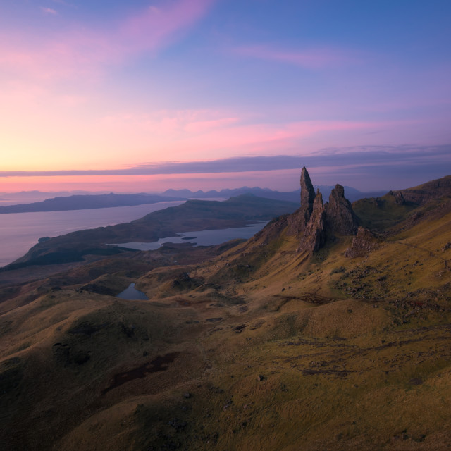 """The Old Man of Storr, Isle of Skye, Scotland, United Kingdom"" stock image"