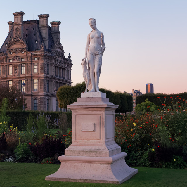 """""""Tuileries garden"""" stock image"""