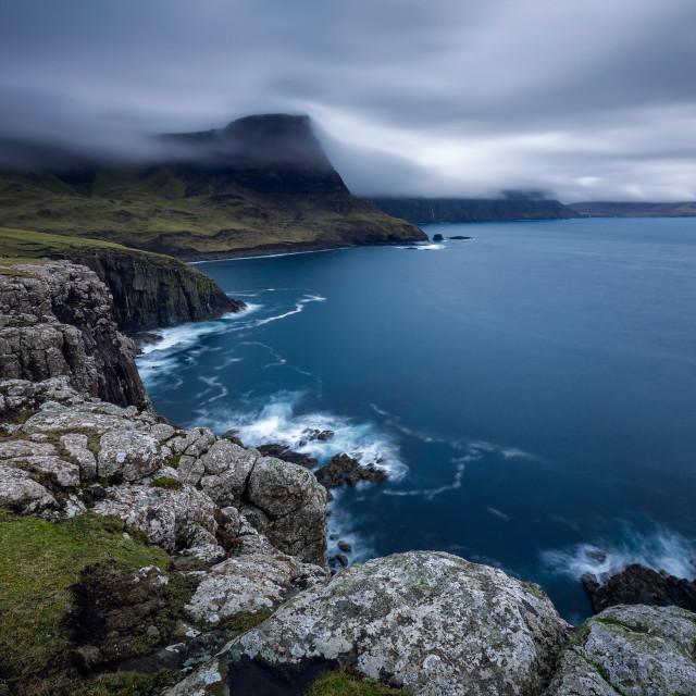 """""""Duirinish peninsula, Glendale, Neist Point , Isle of Skye, Scotland, United Kingdom"""" stock image"""