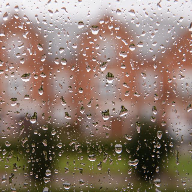 """Please stop raining"" stock image"