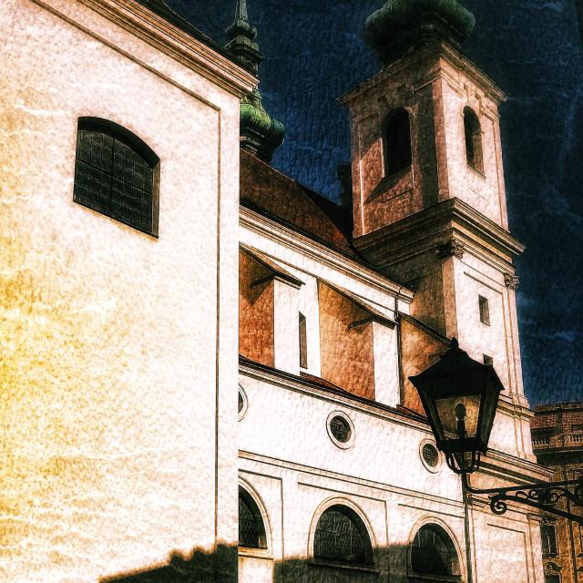 """Brno Church"" stock image"