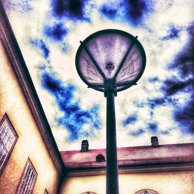 """""""Streetlight in Brno"""" stock image"""
