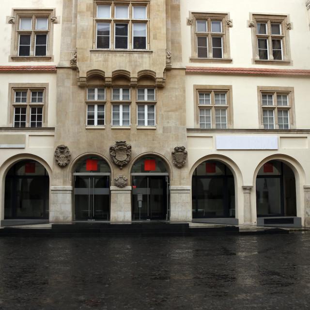 """old town hall Bratislava Slovakia"" stock image"