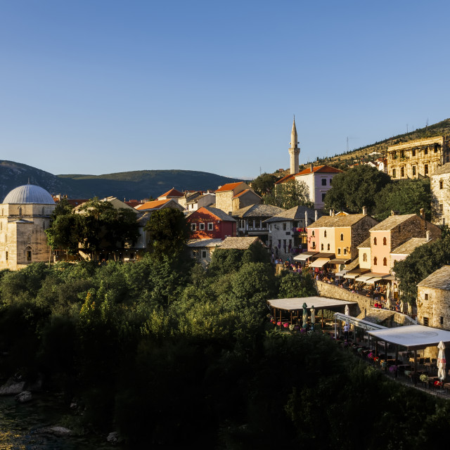 """Mostar townscape"" stock image"