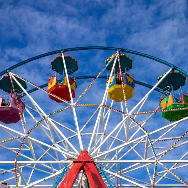 """Big Wheel Carnival"" stock image"