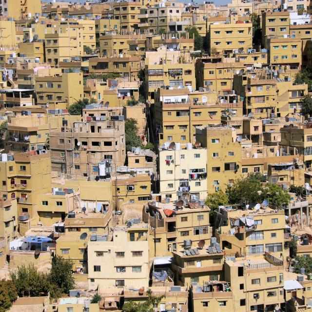 """Amman Cityscape - Jordan"" stock image"